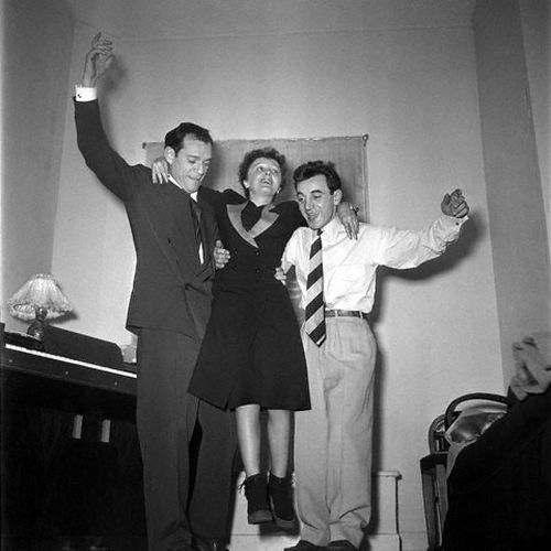 Eddie Constanine, Edith Piaf, Charles Aznavour... Reaching new heights.