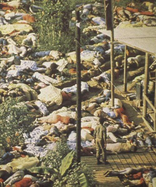 Jonestown Massacre (18 Nov 1978)