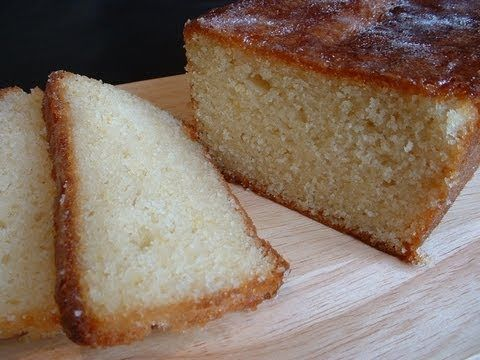 Lemon sponge cake recipe | Lemon drizzle cake | made with sunflower oil instead of butter