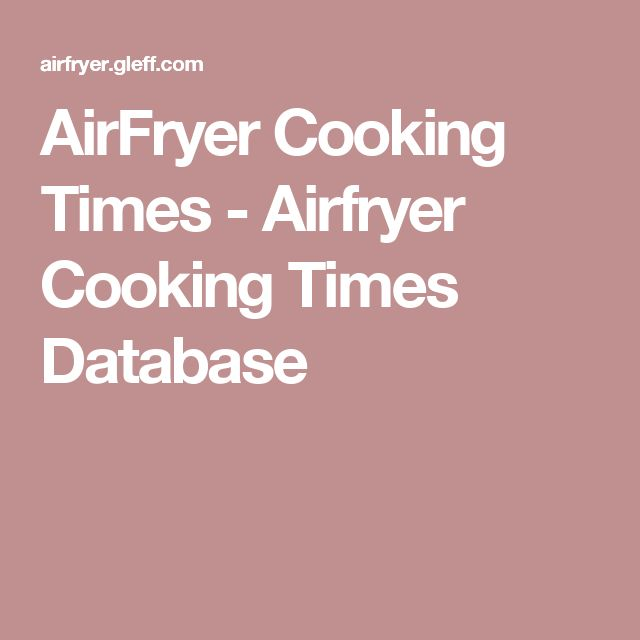 how to cook air facebook