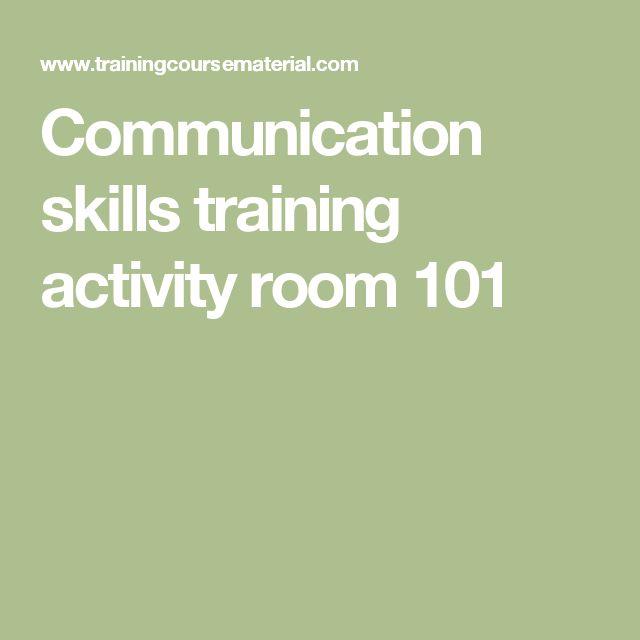 Communication skills training activity room 101