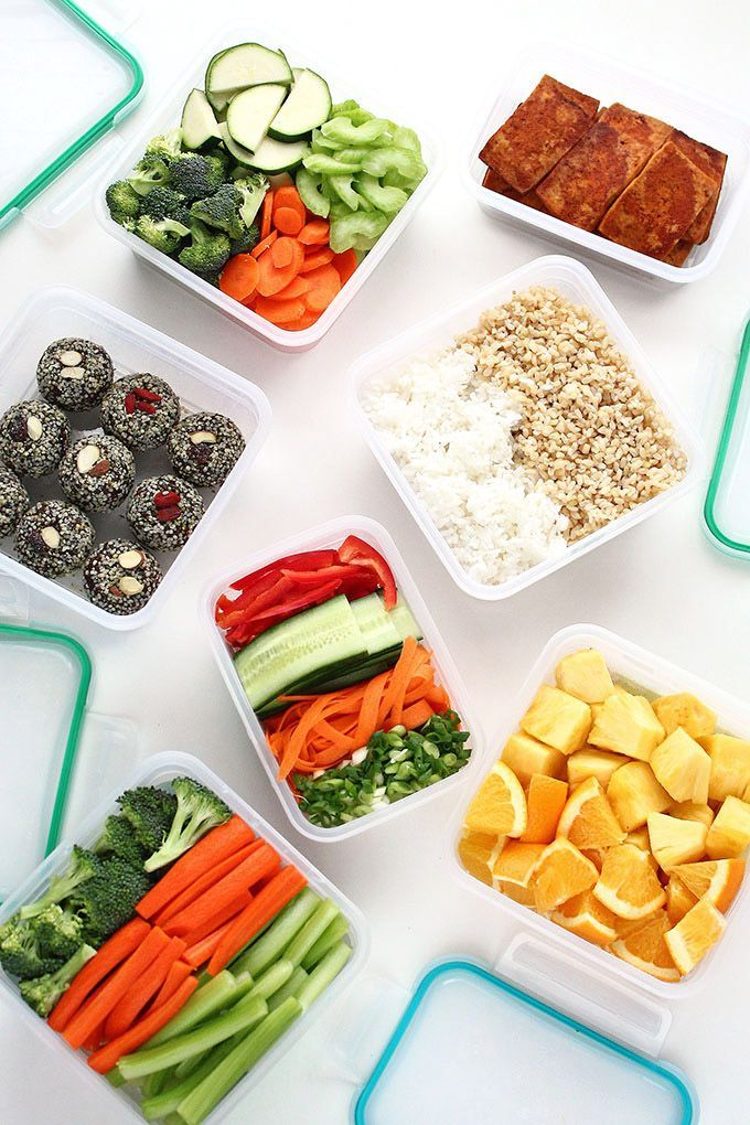 Meal Prepping For Healthy Vegan Lunches