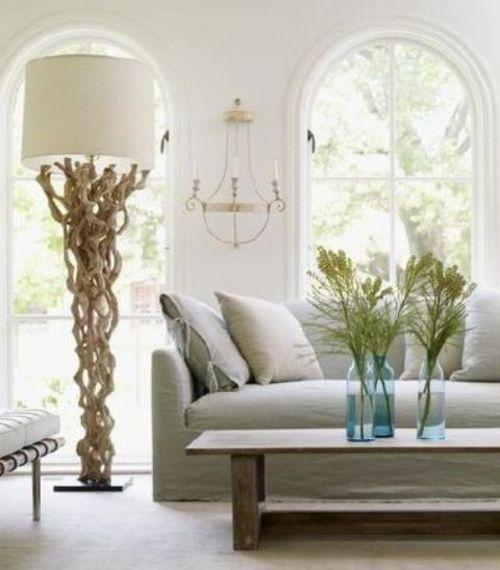lampadaire design et intéressant