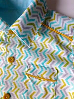 hemdje met paspeltje (voor communie)