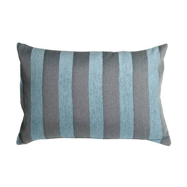 Blue Rectangular Throw Pillows : Pillow Decor Brackendale Stripes Sea Blue Rectangular Throw Pillow ($50) liked on Polyvore ...