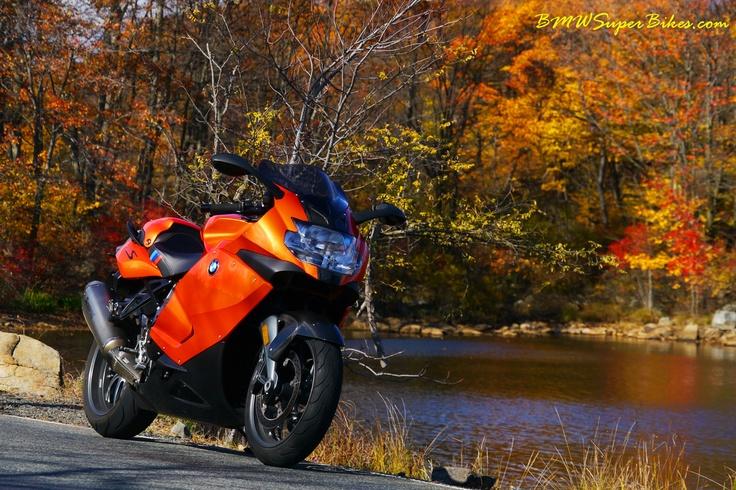Shot by me, BMW K1300S in Lava Orange Metallic