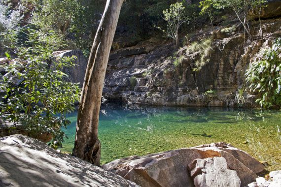 Turquoise Pool Emma Gorge El Questro Wilderness Park Gibb