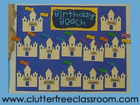 How To Decorate Clroom For Kindergarten By The 25 Best Birthday Charts Ideas