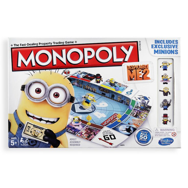 Monopoly Despicable Me 2 Game | ToysRUs