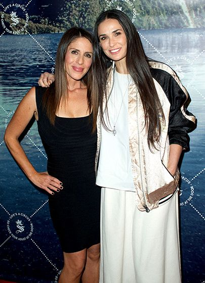 Soleil Moon Frye got a congrats from pal Demi Moore at the unveiling of Seedling's Arts District headquarters (Frye is a partner in the company) in L.A. May 28.