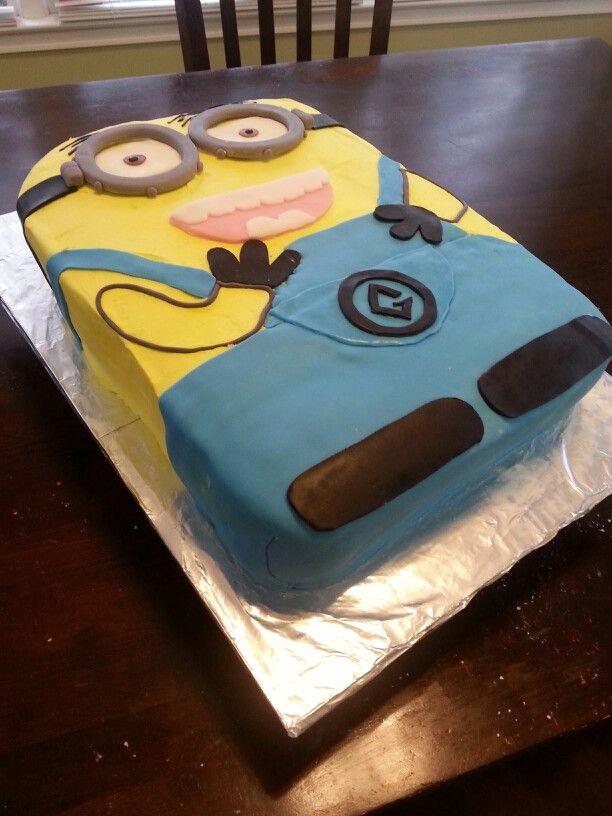 Minion Cake Design Pinterest : Minion cake Cake decorating Pinterest