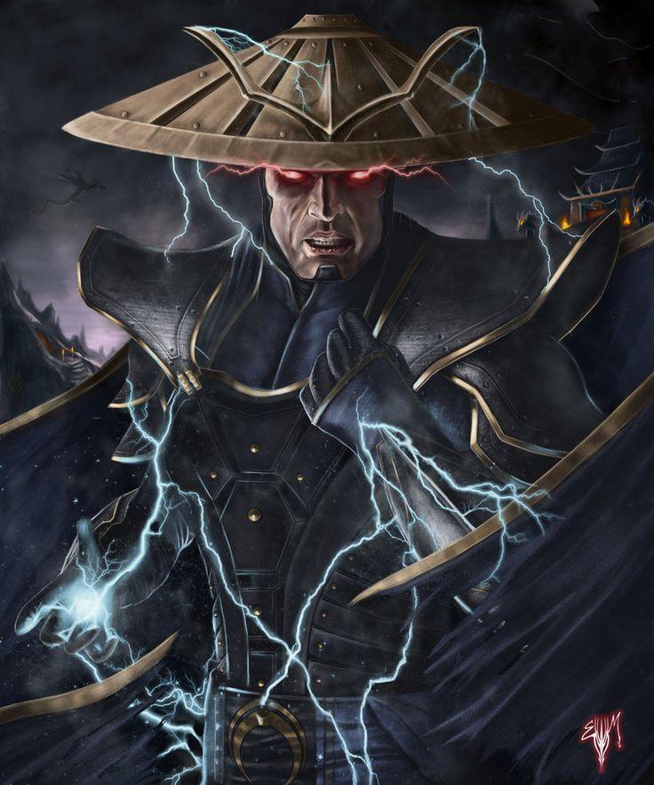 MK Legacy Thunder God l Illustrator: Esau Murga - Raiden
