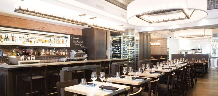 LEMAYMICHAUD | CHEZ BOULAY | Québec | Architecture | Design | Restaurant | Eatery | Hospitality | Lighting | Mirrors | Blackboard | Seating