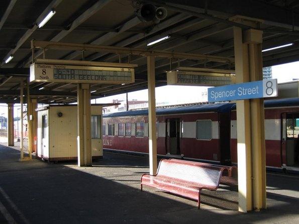 Old Spencer St Station
