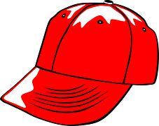 Baseball, Víčko, Oblečení, Červená, Léto