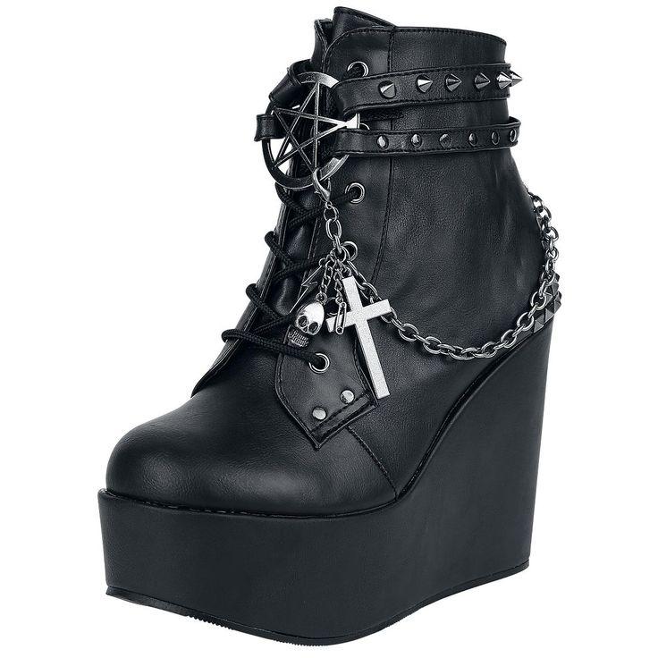 Demonia  High Heel  »Poison- 101« | Jetzt bei EMP kaufen | Mehr Gothic  High Heels  online verfügbar ✓ Unschlagbar günstig!