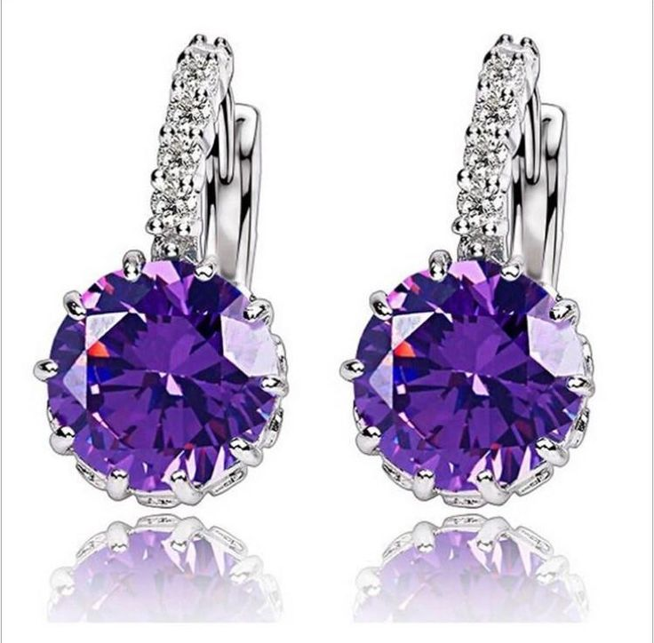Amazing earrings zircon kod 022308