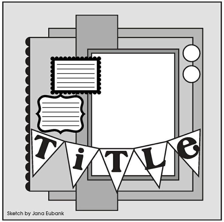 1103 best scrapbook layouts images on pinterest
