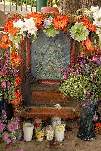 117 best images about garden shrines altars on pinterest for Oaxaca mexico arts and crafts