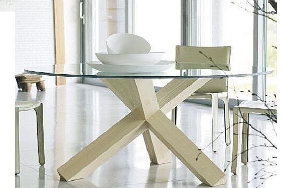 Mesas de vidrio para el comedor mesas for Mesas de comedor de vidrio