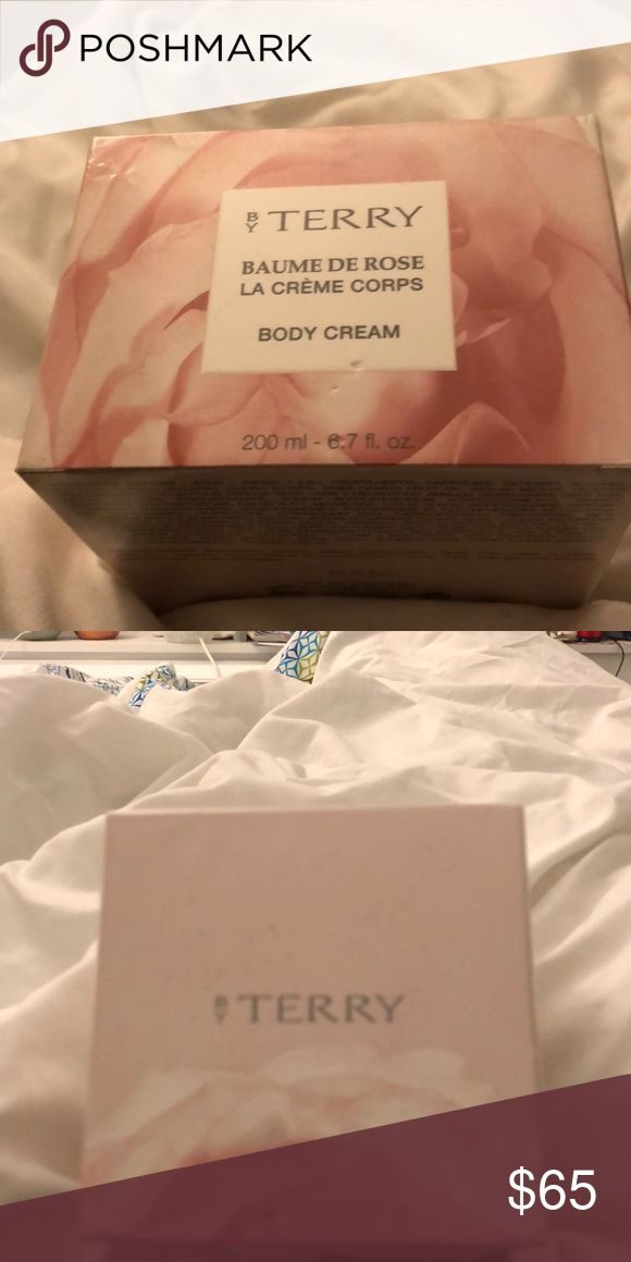 ByTerry Blume De Rose La Créme Corps Body Cream Brand new, never been opened. In plastic wrapping and cream itself has unopened sealed aluminum on. ByTerry Makeup