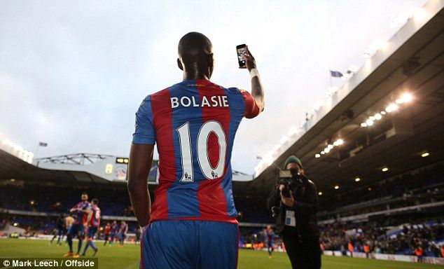 Bolasie has been out injured for the past two months which has coincided with a slump in form for his side