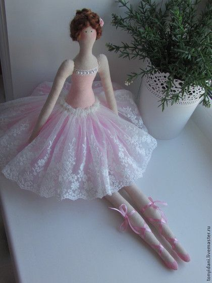 Tilda muñecas hechas a mano.  Masters Feria - Hecho a mano Tilda bailarina.  Hecho a mano.
