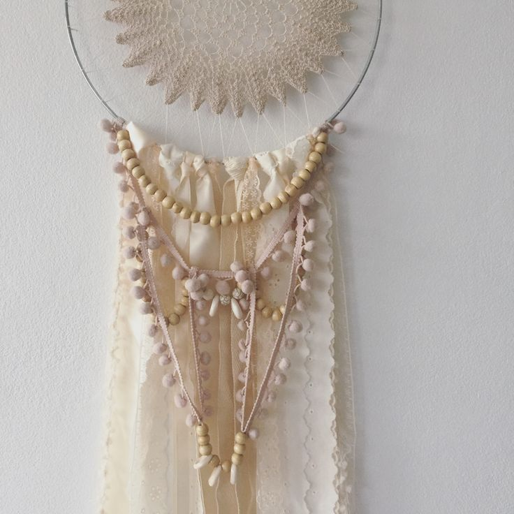DREAM CATCHER  Beaded dream catcher by ivie and letty