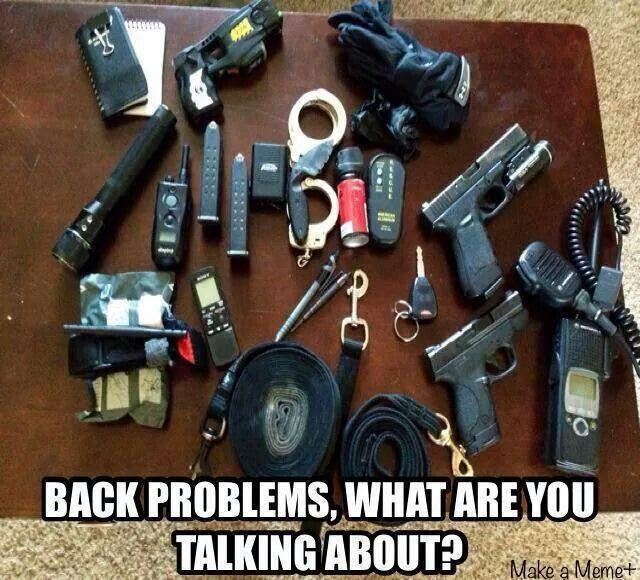 Back problems 101 Law Enforcement Today www.lawenforcementtoday.com