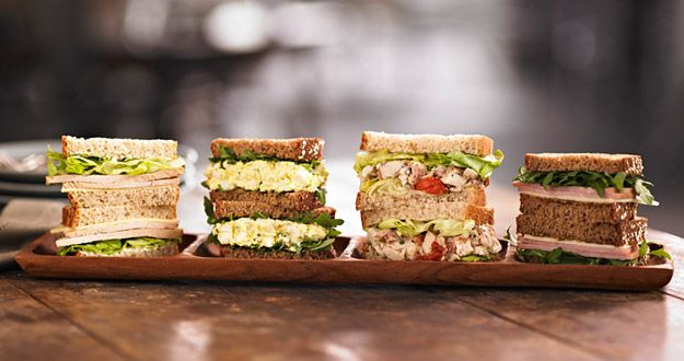 News: Starbucks New Sandwiches and Salads | Man Reviews Food