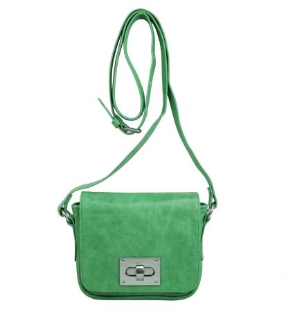 Lille buckle bag in mint