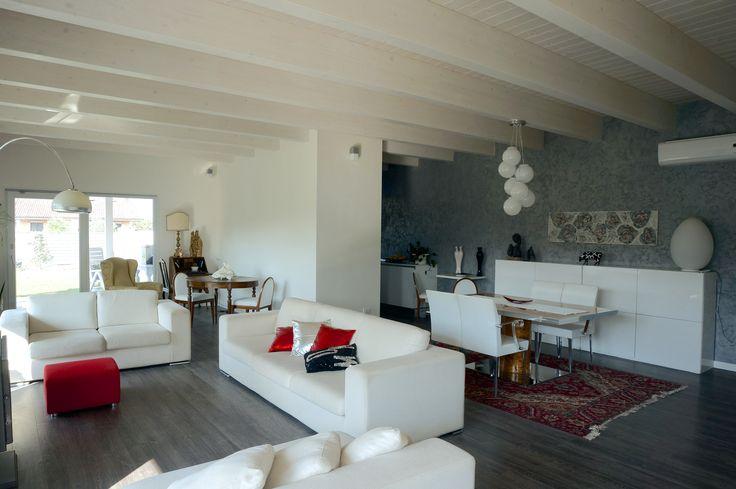 casa #green in #legno #arredamento interno #contemporaneo
