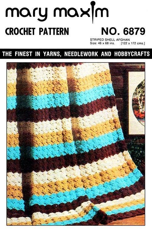Excepcional Afgan Patrones De Crochet Libre Bosquejo - Ideas de ...