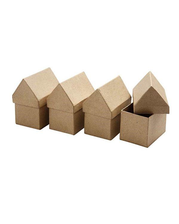 Papírový domeček -krabička