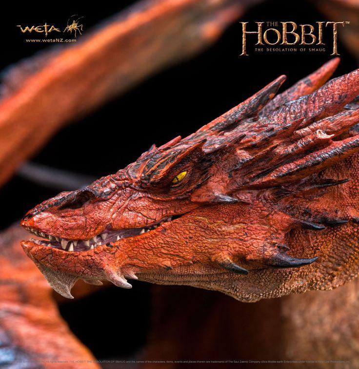 Der Hobbit Smaugs Einöde Statue 1/72 Smaug The Terrible 52 cm Der Hobbit - Figuren Smaug - Hadesflamme - Merchandise - Onlineshop für alles was das (Fan) Herz begehrt!