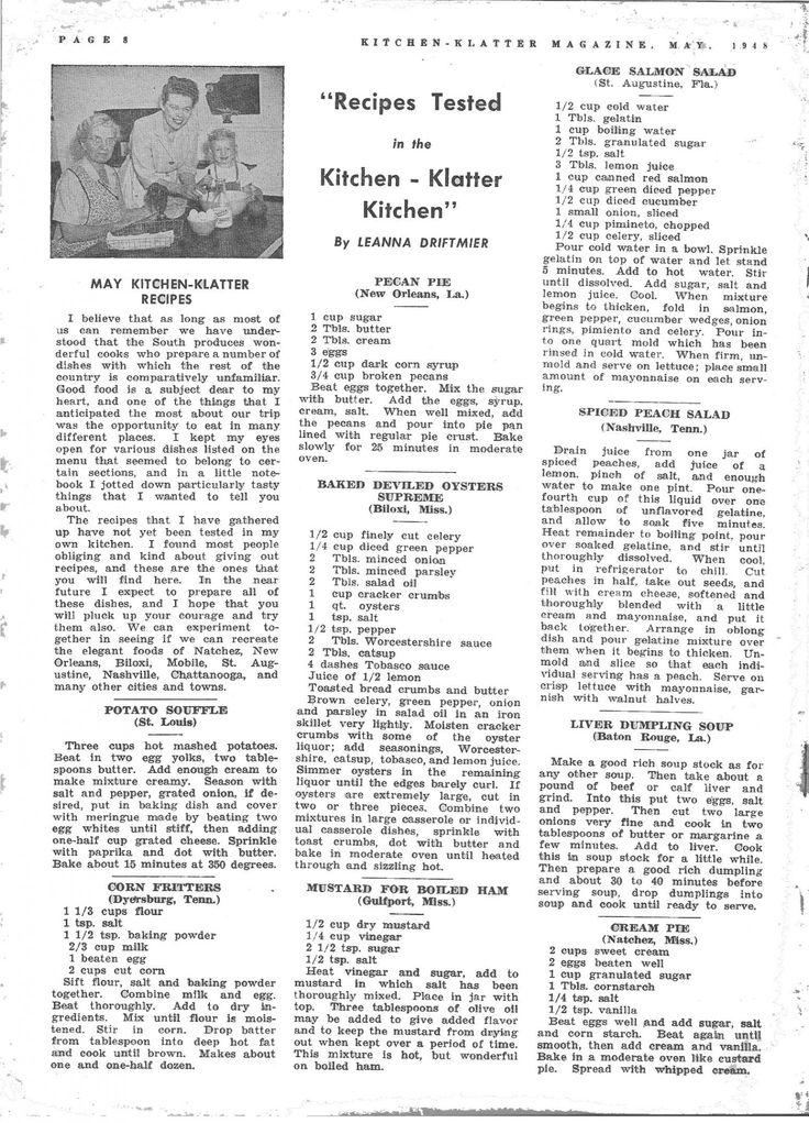 Grandma S Kitchen Recipe Cards Potato Soup