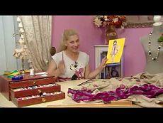 Olga Nikishicheva lino chaqueta de punto - YouTube
