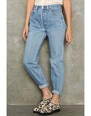 Levi's 501 spijkerbroek met hoge taille mt 28 - Prijs: € 20,00