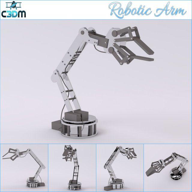 Robotic arm d industrial pinterest