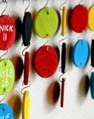 20 Additional Name Circles-Teacher Calendar by DesignsByLissaLou
