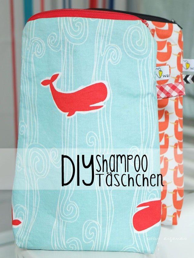 DIY Shampoo Tasche   nähen & Selbermachen   was eigenes DIY Blog