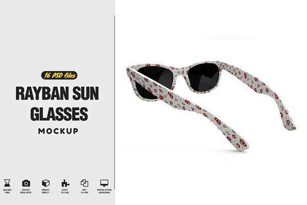 Rayban Sun Glasses Mockup Psd Mockup Free Mockups Psd Glasses Mockup Psd Mockup