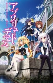 """Absolute Duo   Individuals who can materialize weapons from their soul are called """"Blazers,"""" and they attend Kouryou Academy High Schoo..."""