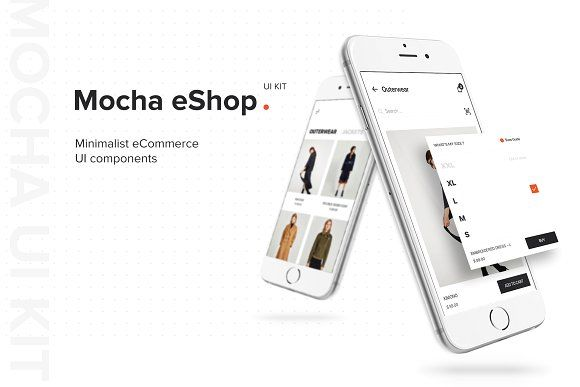 Mocha eShop UI Kit - Web Elements