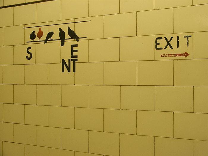 Birds? #starkzineau #nicholasbuliding #photography #birds #tiles #interior #interiorarchitecture