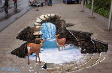 3D Street Art Get Free Wallpapers Online