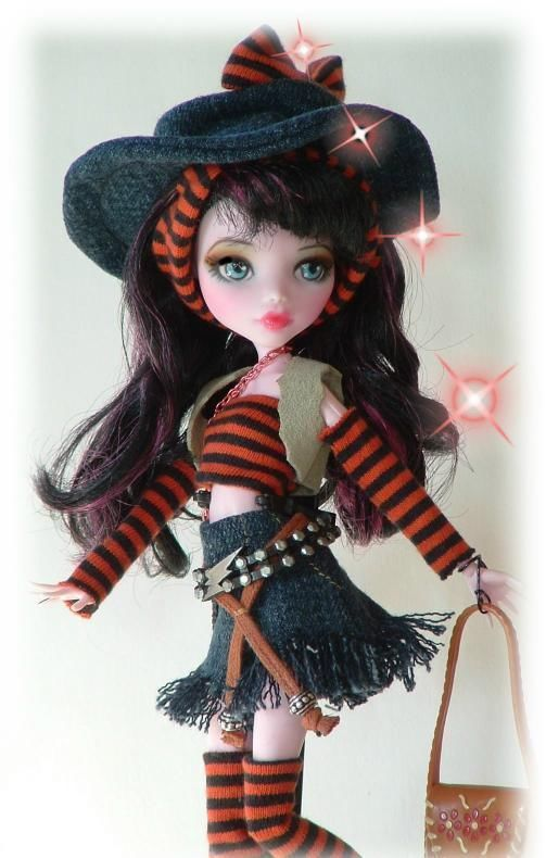 ooak monster high doll Happy Trails Monster high repaint by Cindy