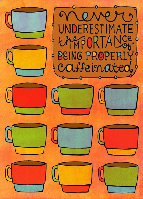 Story of my life?...but really, I laughed after reading this...I think I will put it by my keurig in my office!