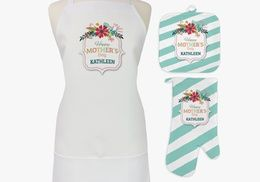 Groupon - One or Two Sets of Personalized Aprons, Potholders, and Oven Mitts from Monogram Online (Up to 81% Off). Groupon deal price: $12.99