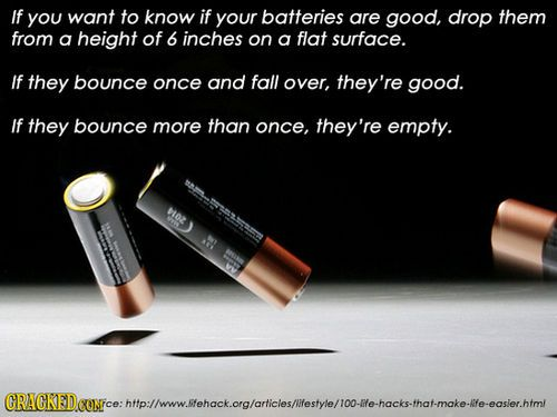 25 Amazing Life Hacks You Won't Believe You Didn't Know Slideshow / Cracked.com on imgfave